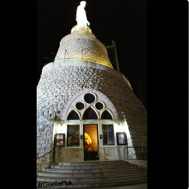 "💫 Nothing describes you better than ""Our Lady"" _____________________... (Harîssa, Mont-Liban, Lebanon)"