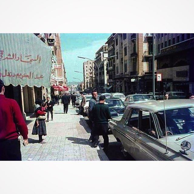 Downtown Beirut in 1969 .