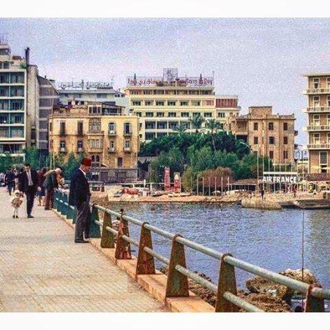 Minet Al Hosn Bay , Beirut in 1963 .