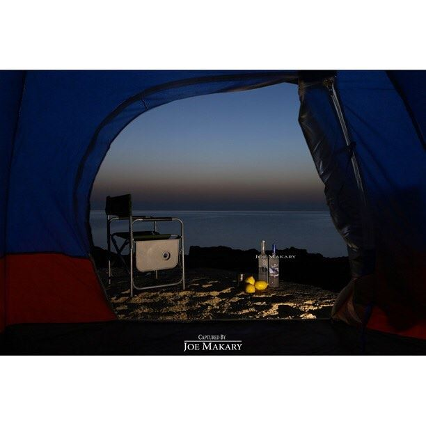 batroun kfarabida sea camping seacamping vodka sky colors sunset ...