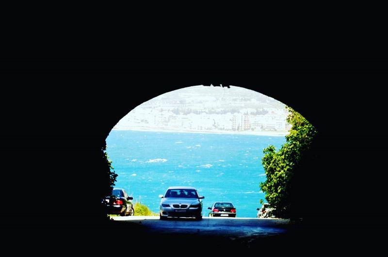 From chekka tunnel chekka lebanon sea ... (Chekka)
