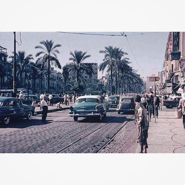 صباح الخير من بيروت ساحة الشهداء عام ١٩٦٣ ،