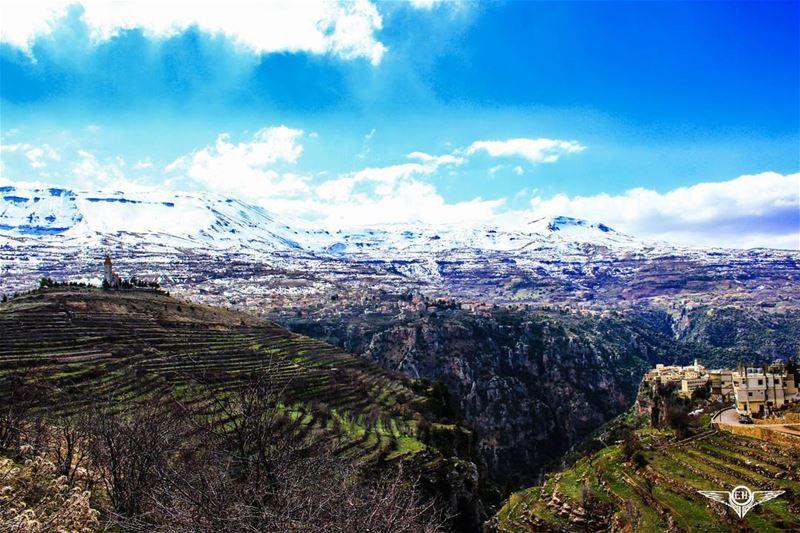 We wanderers, ever seeking the lonelier way, begin no day where we have... (Qadisha Valley)