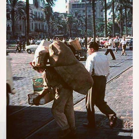بيروت ساحة الشهداء عام ١٩٦٣ ،