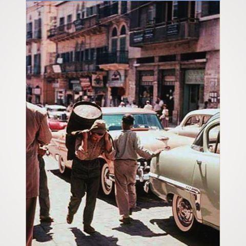 بيروت الجميزة عام ١٩٦٠ ،