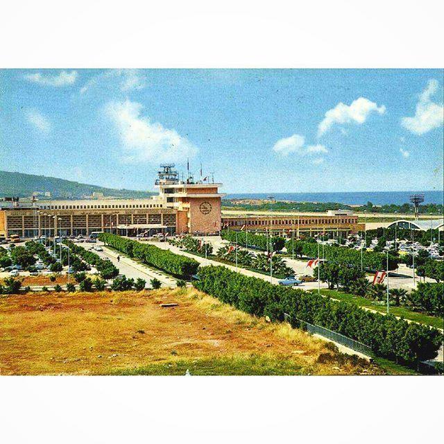 مطار بيروت الدولي عام ١٩٦٩ ،