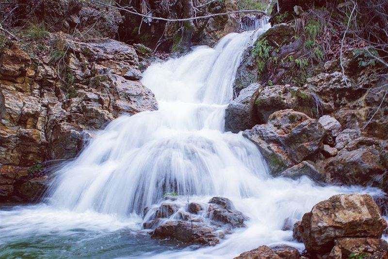 tb river waterfall haytoura roum southlebanon amazing lebanese ... (Haitoura)