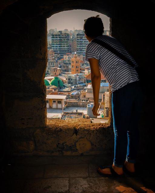 نافذة على العالم - الجزء الثاني 🏚 The World Through a Window - Part 2 🏚... (Tripoli Castle)