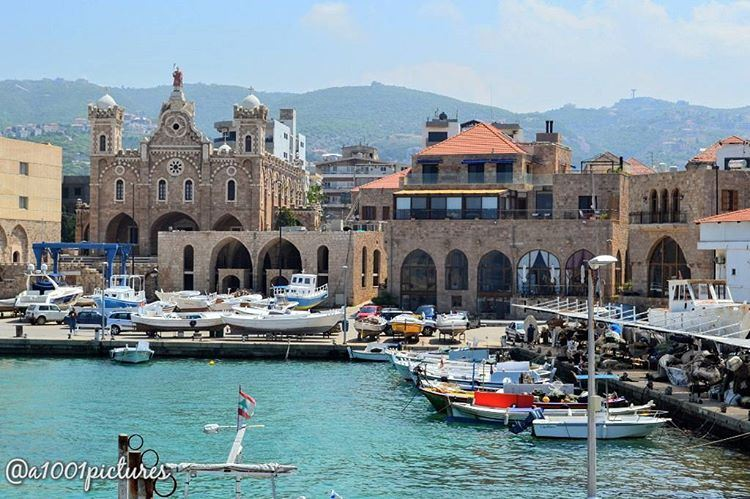 A view of the Batroun's fishing port, a Lebanese coastal town on a... (Mina-batroun)