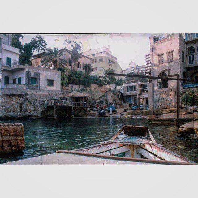 صباح الخير من بيروت عين المريسة عام ١٩٦٨ ،