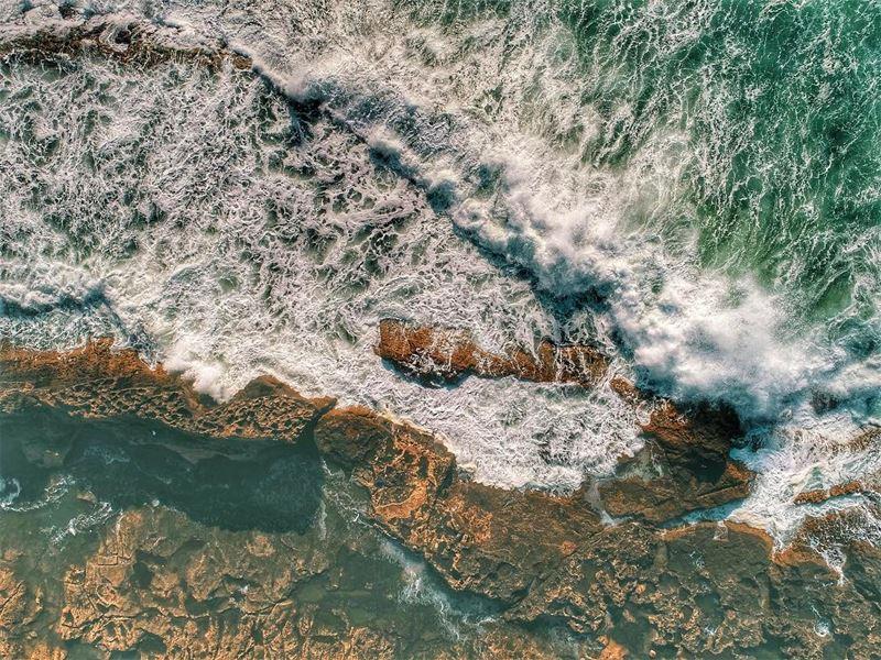 It was pretty messy down there 🌊 waves wind weather crazy batroun ... (Batroun District)