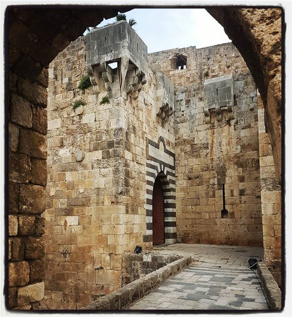 Magestic entrance of St.Gilles crusader's castle. tourleb tourlebanon ... (Tripoli, Lebanon)