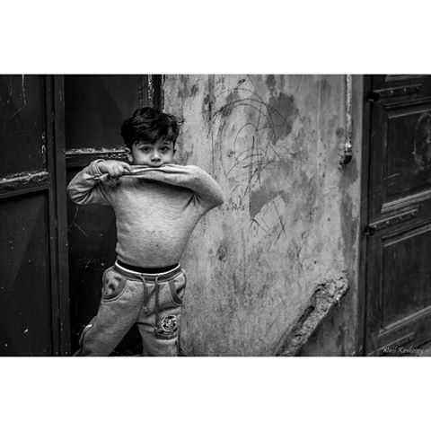 bnw  child  boy  portrait  blackandwhite  portraitmood  street ... (Old Saida Souks)