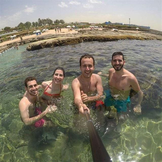 With the best ☀️🌊🏝🔙••••••••••••••••••••••••• igerslebanon prolebanon... (Lazy B)