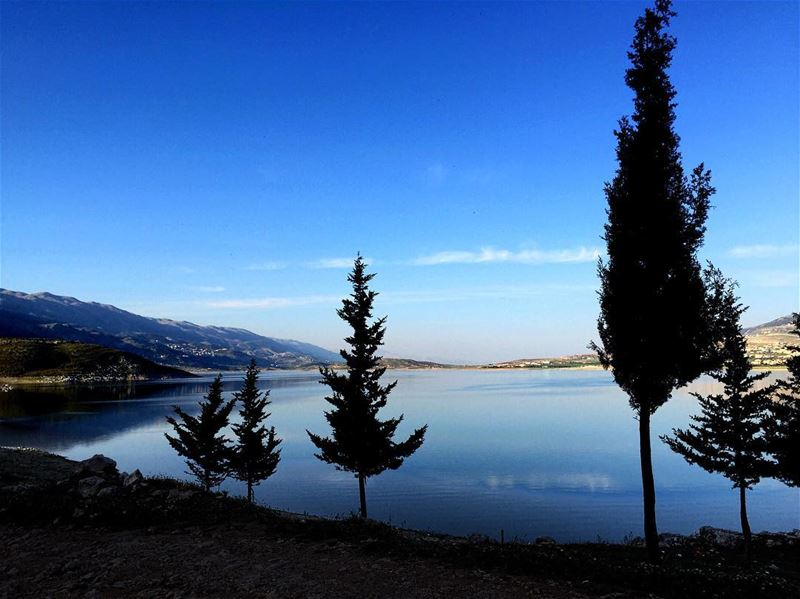 And Then, There Was Silence. Lebanon's largest lake, Lake Qaraoun, is... (Lake Qaraoun)
