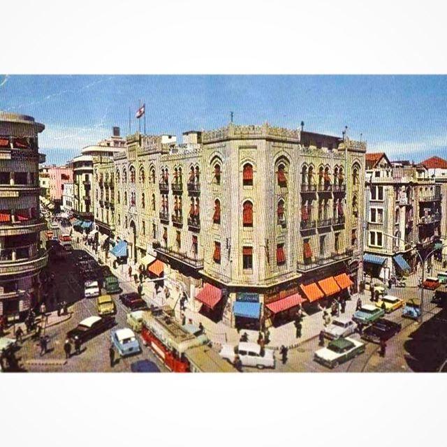 شارع ويغان ، بيروت عام ١٩٦٣ .