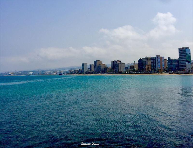 sea blue saida lebanon ...