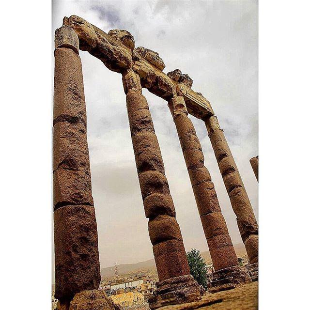 🏛🏛 sergesarkisphotography photography canon canonphotography ... (Baalbek , Roman Temple , Lebanon)