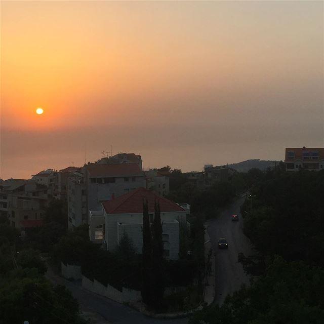 sunset sunsetporn colorful beautiful beautifulview mediterranean ...