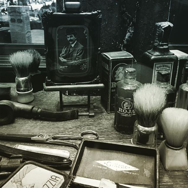 Going old school. barber barbershop haircut hair philandjoe ... (Phil & Joe Barbers)