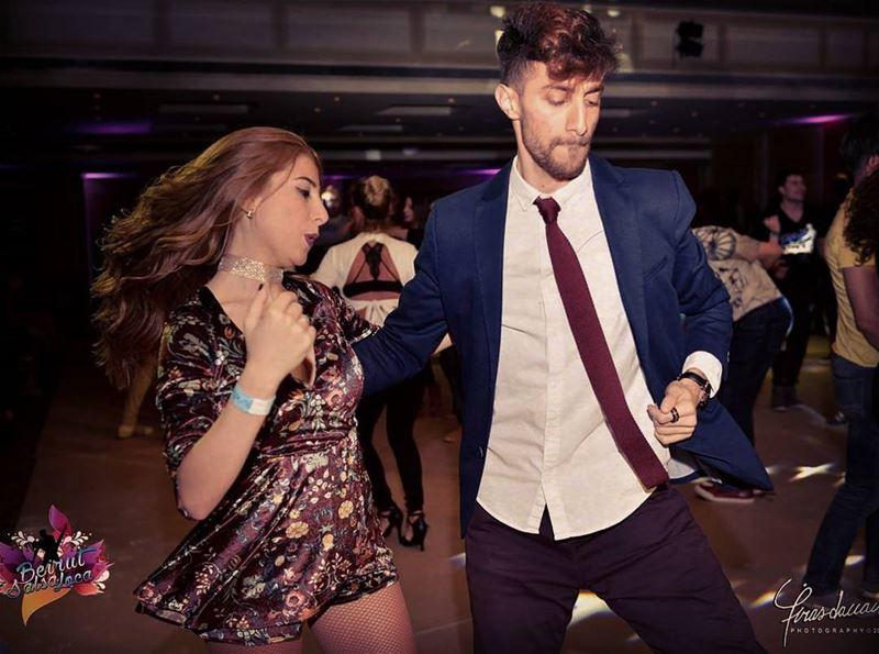 ♩Ouuu houuu ! Shut up and dance with me ♩.. mikeamanda couplegoals ... (Regency Palace Hotel)