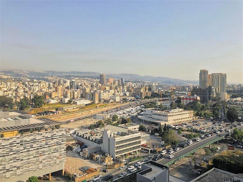 Wake up to this ... (Achrafieh, Lebanon)