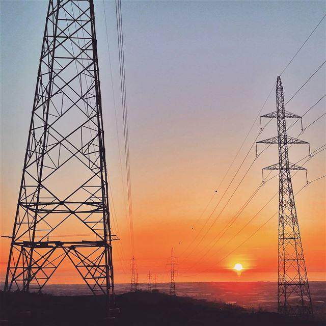 ⚠⚡high-voltage column⚡⚠📷 Lebanon/Akkar in 25/3/2017☺. highvoltage ... (`Akkar, Liban-Nord, Lebanon)