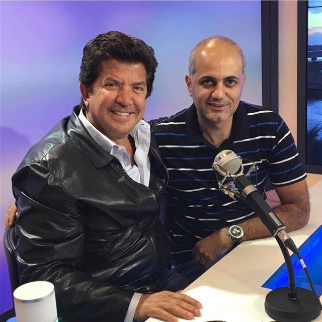 النجم العربي وليد توفيق. walidtoufic famous lebanon interview... (Channel 4 Network Studios)