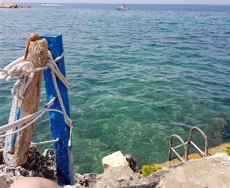 La vie en bleu! loves_lebanon super_lebanon ig_lebanon ... (Ta7t El Ri7 - Anfeh)