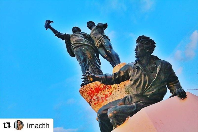 Repost @imadth with @repostapp・・・The People who have really made the ... (Downtown Beirut)