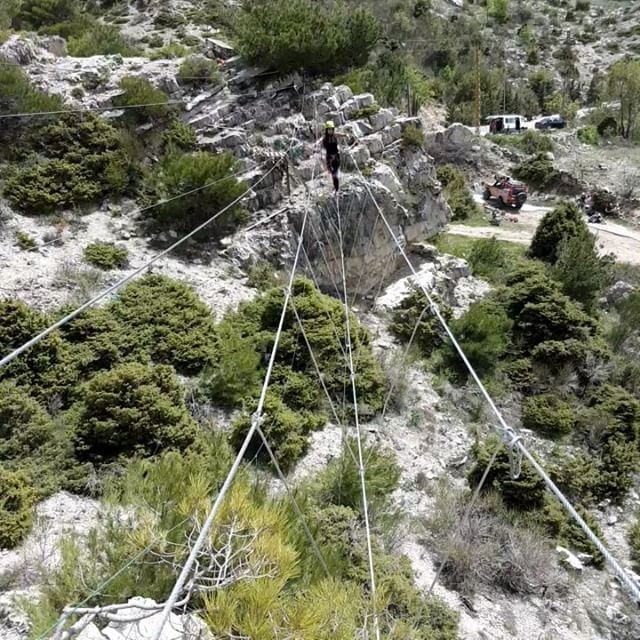 madeinehden liveloveehden zipline monkey_bridge lebanon ... (Ehden Adventures)