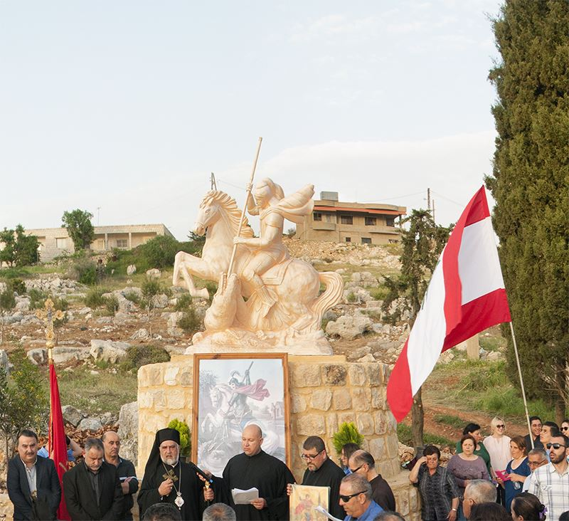 Saint George's Statue and Opening Celebration 2017 - Yaroun, South Lebanon (360 Virtual Tour)