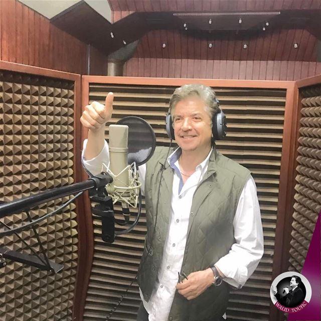 خاص من ستوديو الرسالة في القاهرة حيث اضع اللمسات الاخيرة على أغنية الدنيا_ (Cairo, Egypt)