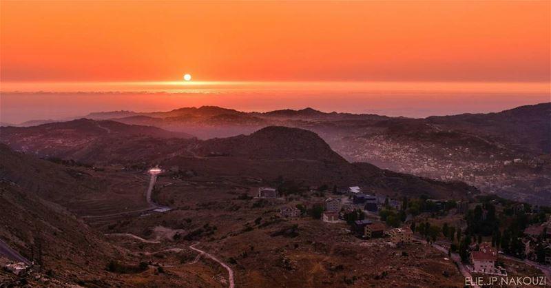 Another day.. nikon photography sunset sun orange sky horizon ...