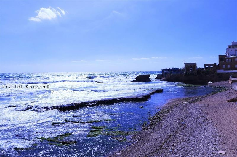 Batroun's Vitamine SEA 🌊 sea summer batroun lebanon livelovelebanon... (Batroûn)