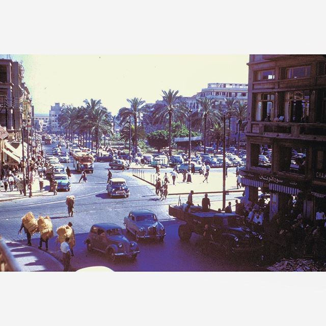 This is Beirut This is Martyrs Square in 1956 .