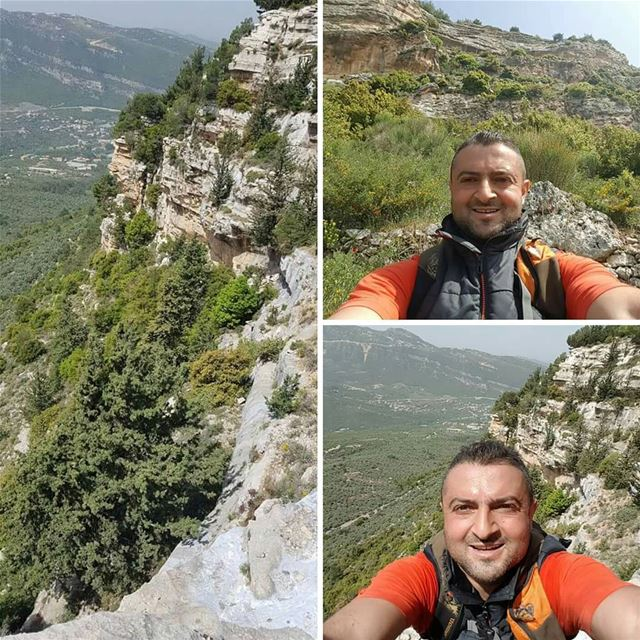 When the others are hiking We climb 💪 climbing hiking spring nature ... (Hardin قرية المحابس)