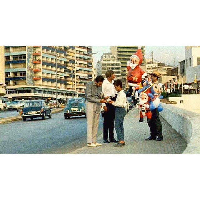 بيروت الروشة عام ١٩٧١ ،