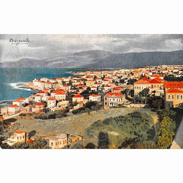 بيروت عام ١٩٠٠ ،