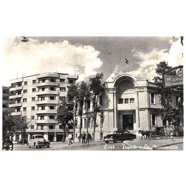 صباح الخير من طرابلس عام ١٩٥٥ ،