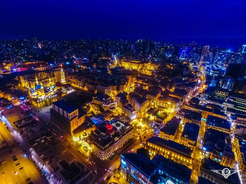 Another drone view of downtown Beirut@dronekoning dji phantom4 ...