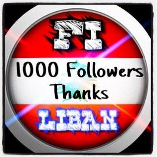 1️⃣0️⃣0️⃣0️⃣🤾♂️ FOLLOWERS onlyfiliban followers 1000followers ... (Lebanon)