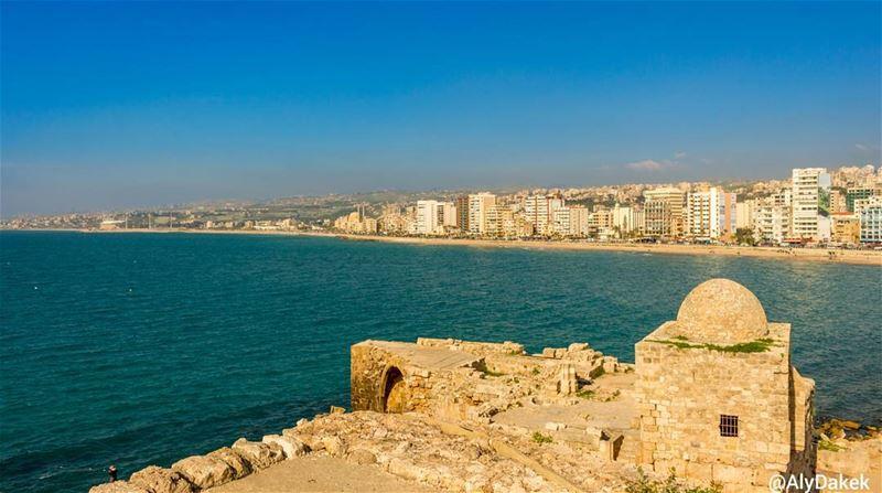Attitude is everything. livelovelebanon lebanon tyre sidon sea ... (Sidon Sea Castle)