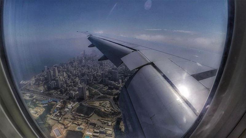 Landing in Beirut 🇱🇧✈️ throwback ...... gopro yallagopro beirut... (Beirut, Lebanon)