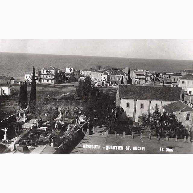 بيروت الاشرفية عام ١٩٢٧ ،