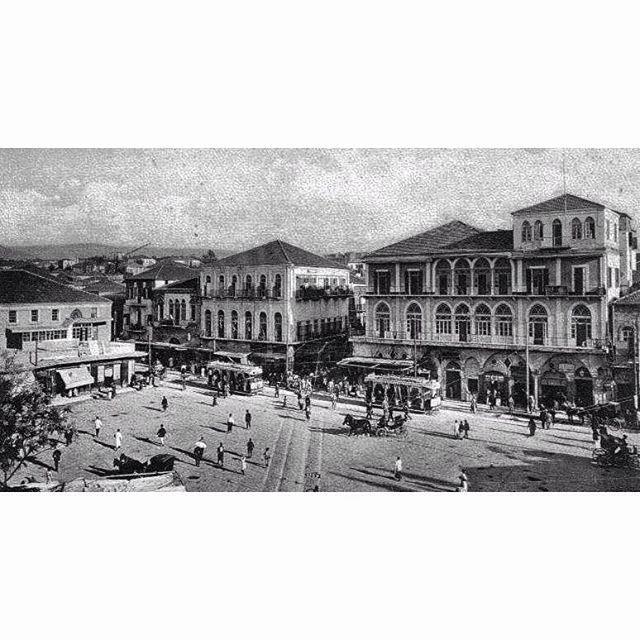 بيروت عام ١٩١٩ ،