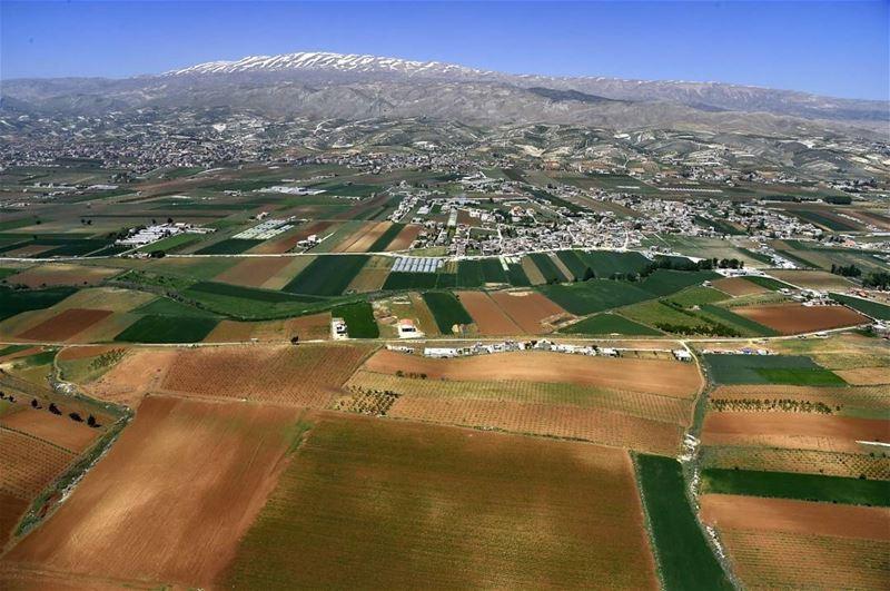 """سهل البقاع (📸 """"لبنان 24"""")••• Lebanon Bekaa livelovelebanon insta ..."""