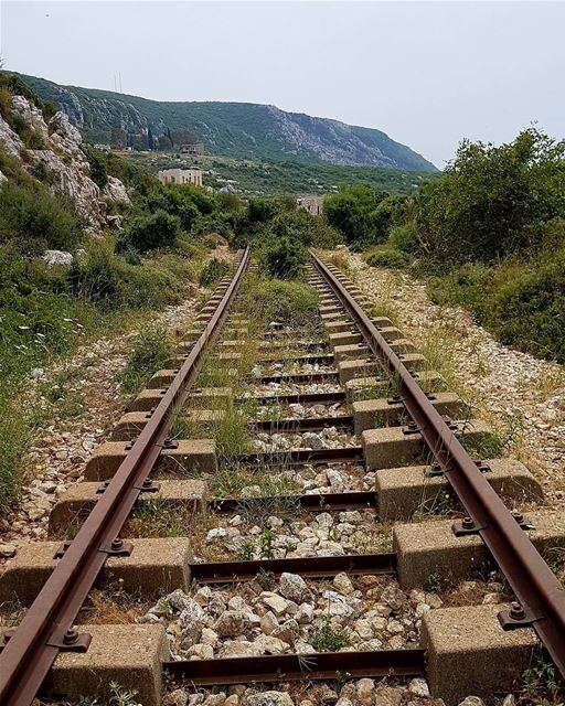 You may not know where the track ends, but persevere and you shall see.🛤 ... (Hamat)