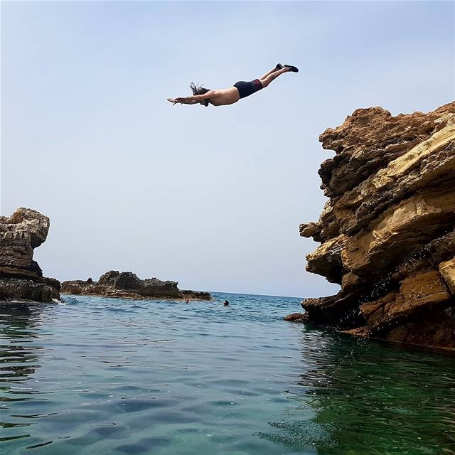 Those Who Don't Jump Will Never Fly💦 m_illusion igpodium shotaward ... (Kfarabida Batroun)