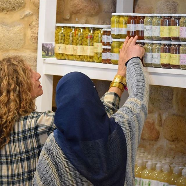 At Tawlet Saida, Soha knows everything about the local products in the...